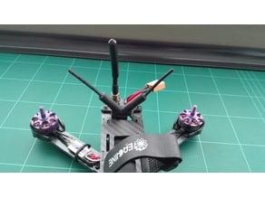 Wizard X220 antenna receiver mount 90º