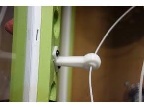 Self adjusting Filament Guide bracket for Enclosures