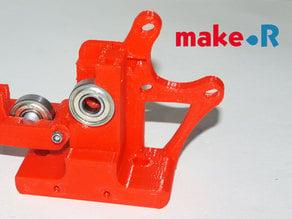 Cuerpo del extrusor para filamento 3mm -impresora Prusa i3- Remix del Greg's Wade reloaded