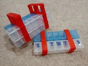 Pillbox Holder - OpenSCAD Customizer