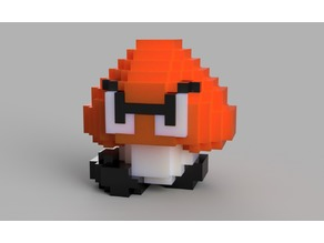 Classic 8Bit Goomba - Piece Together