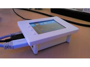 Raspberry Pi  3.2 inch Joy-it touchscreen case
