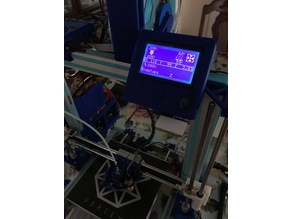 12864 LCD Mount for 2040 Extrusion