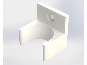 Paint tube bracket (screw mounted)