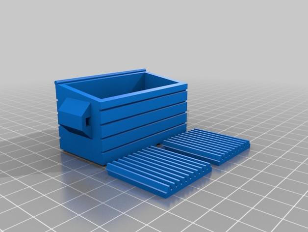 28mm Scale Dumpster