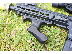 MASS EFFECT STYLE FOREGRIP FOR AIRSOFT GUNS (reuploaded)