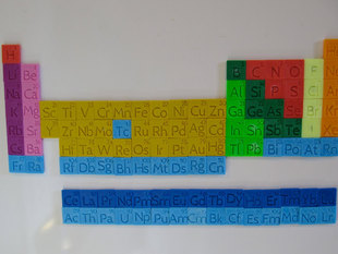 Periodic Table Magnet set