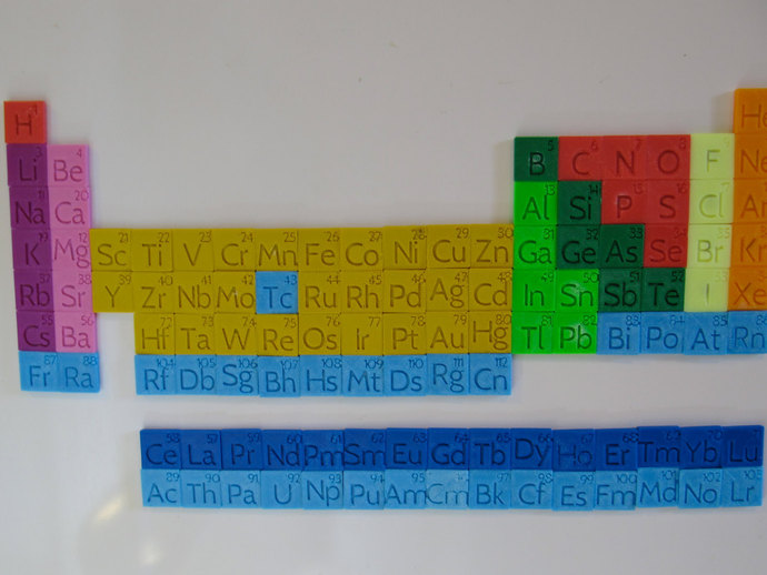 Periodic Table Magnet Set By 3dcentralva Thingiverse
