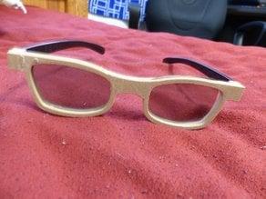 3D Glasses Frames