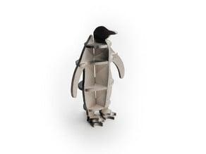 Penguin 3D-puzzle cnc/laser
