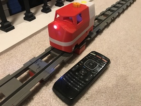 Lego Train: Duplo Compatible Motorized Locomotive IR controlled