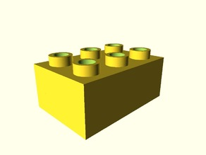 Duplo brick generator/customizer