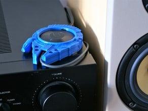 Magnetic Millennium Falcon Chromecast Audio Holder