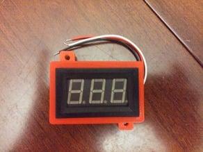 Voltmeter or Temperature Display Enclosure