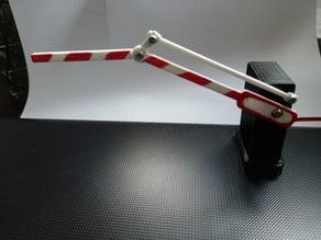 Servo SG90 Barrier with bendy arm