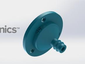 Drip Nozzle (3/4 inch, 3 hole) - 3Dponics Drip Hydroponics