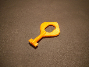 Power socket safety plug key