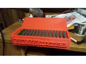 Gameboy Advance game storage box