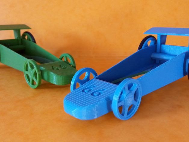 Rubber Band Car Racing Gamevintage