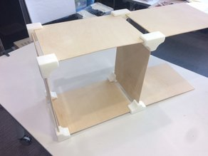 Plywood Box Joint (3mm thick)