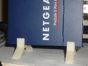 raised stand for netgear switch