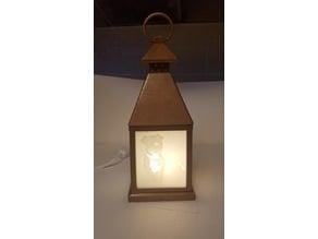 lantern lithophane frame 4 panel