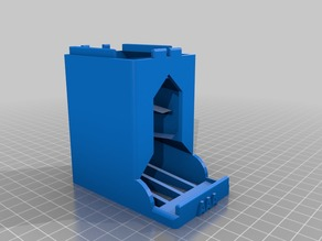 Battery Dispenser AAA V3 STACK-ABLE (remix)