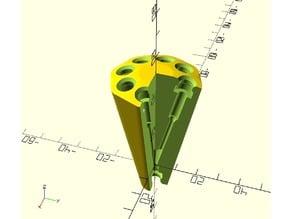 Customizable N-way filament switch