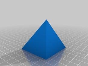 Right Pyramids (Proof of Pyramid Volume)