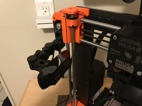 Logitech C920 adapter for Articulating Camera Mount for Prusa MK3 and MK2