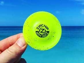 ZipChip frisbee