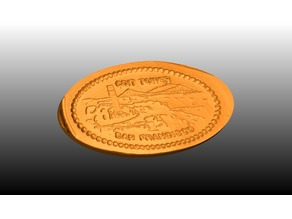 Coit Tower Elongated Penny