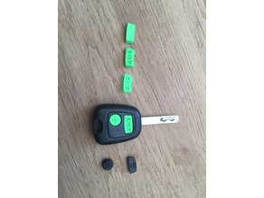 Remote buttons,  Peugeot 107 fit also toyota aygo and citroen C1