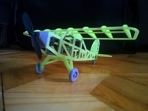 Little airplane model