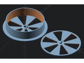 Parametric Circular Air Trimmer