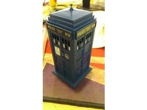 Tardis Inspired Engagement Ring box