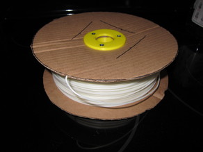Custom Filament Spool (For drill winding homemade filament!)