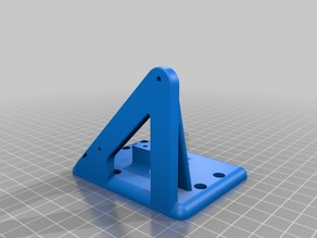 ANET A8 |  E3D v6 Carriage /  Bowden Mount - Remixed for 69.5mm E3D clone hotend