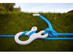 Tarp line clip