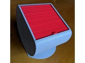 Rolltop Round Box