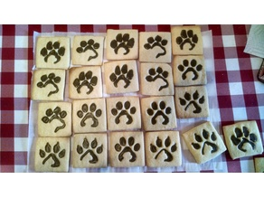 Dog & Cat Paw Cookie Cutters