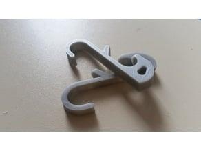 Hook for locker (Gym, School ...)