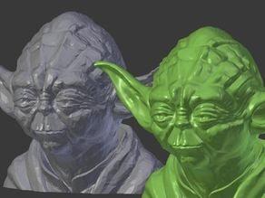 Yoda Resculpted 26mb