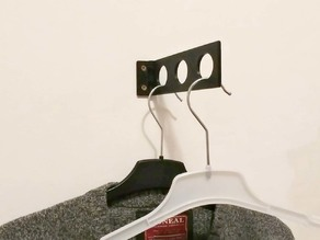 Foldable Wall Hanger for Clothes