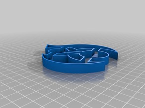 Drupal 8 logo cookie-cutter