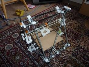 Parametric bracing frame vertex
