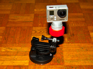 GoPro ball joint mount (improved)