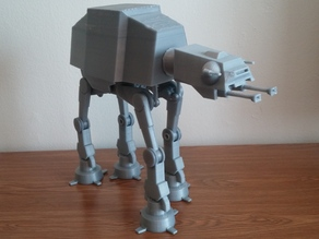Motorized Star Wars AT-AT
