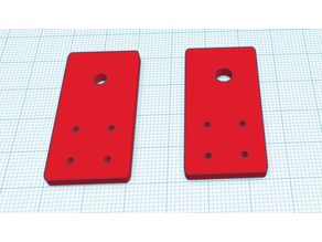 2020 Extrusion Limit switch mount (static position)