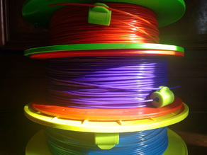 Universal Filament Filter with Spool Clip